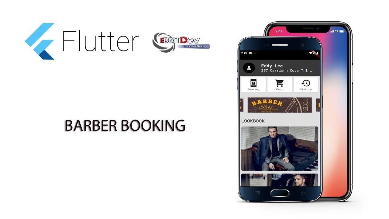 Flutter Tutorial - Barber Booking App #10 Load Barber by Salon