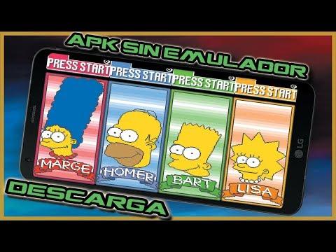 THE SIMPSON ARCADE GAME Para ANDROID [APK SIN EMULADOR] 🤪🥇🕹️