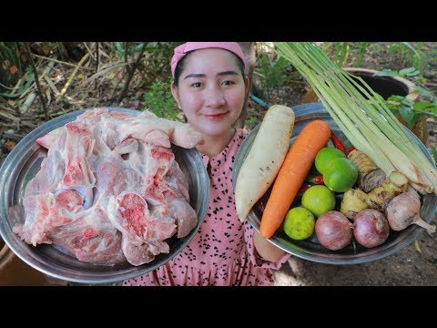 Yummy Pork Leg Pickle Cooking – Pork Leg Pickle – Cooking With Sros