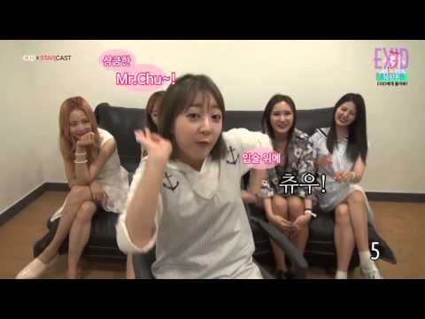 EXID Dances to Apink MrChu