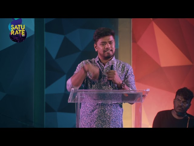 Saturate 2019 | Day 09 | Sermon by Pastor Praneet Calvin
