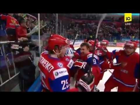 IIHF U20 1/4 Final WJC 2013 RUSSIA - SWITZERLAND 4-3 sn