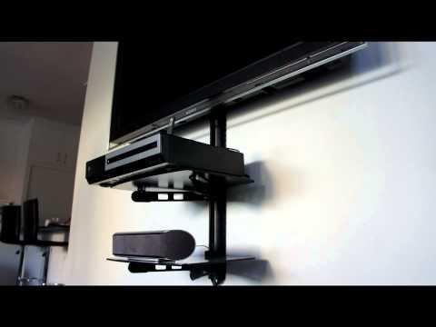 AV Shelf - Shelf Wall Mounting Bracket - TV Shelf