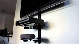 AV Shelf - Shelf Wall Mounting Bracket - TV Shelf