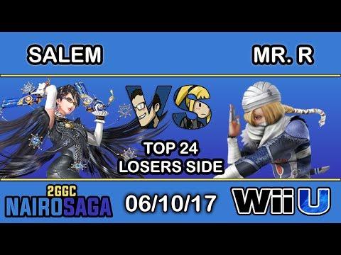 2GGC: Nairo Saga - MVG | Salem (Bayonetta) Vs. Mr. R (Shiek) Top 24 Losers Side