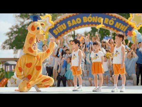 Quảng cáo Abbott Grow Gold – Siêu sao bóng rổ nhí