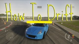 Forza Apex   How To Drift