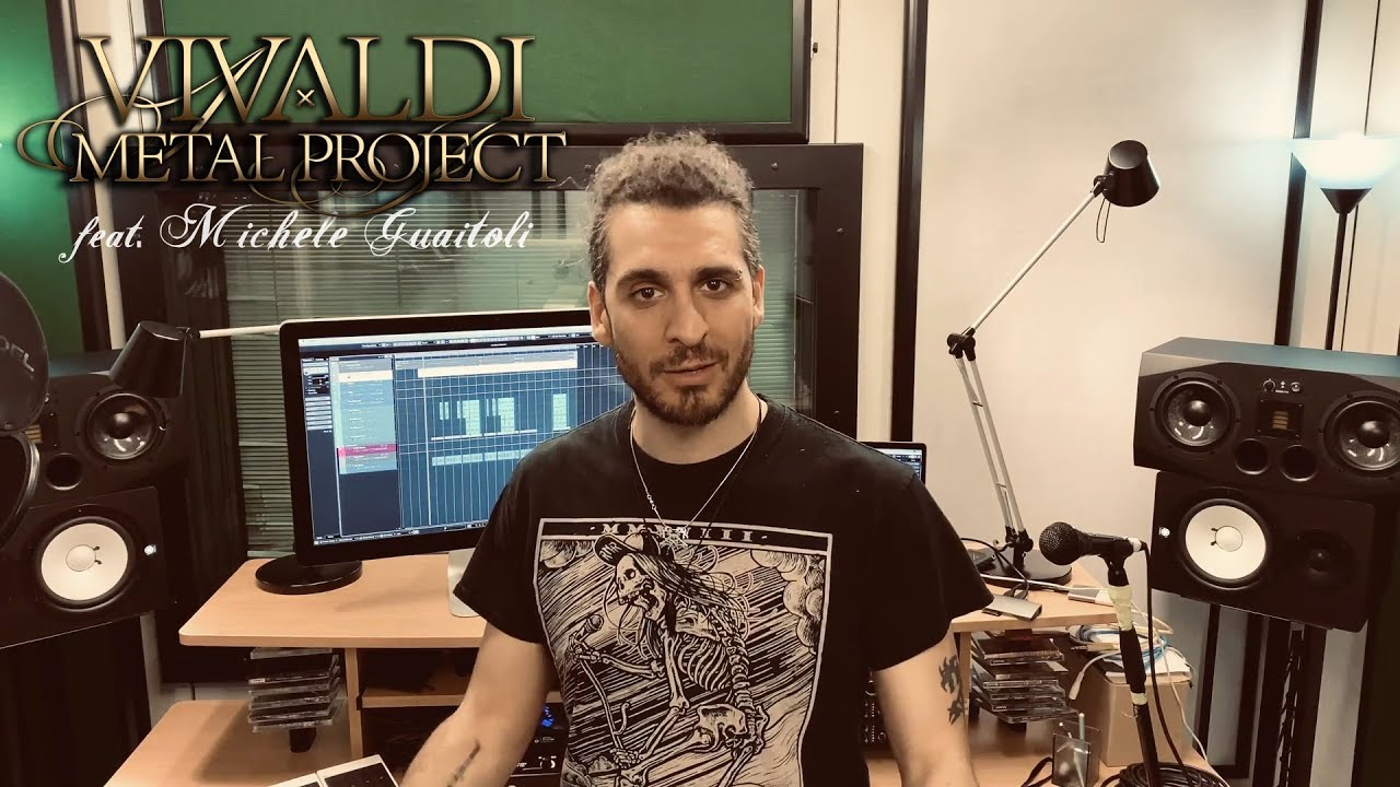 Singer Michele Guaitoli announces his participation in our 2nd studio album