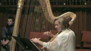 Greensleeves on Harp