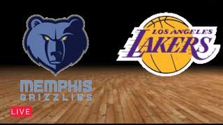 NBA Live Streaming Today | Memphis Grizzlies vs Los Angeles Lakers Full Game Highlights 4K HD Replay