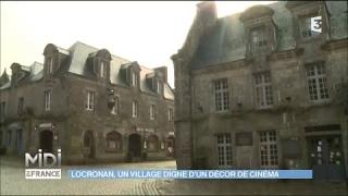 Locronan, un village digne d'un décor de cinéma