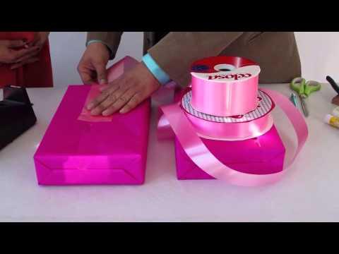 Envolturas para regalos tips gift box wrapping youtube for Envolturas para regalos