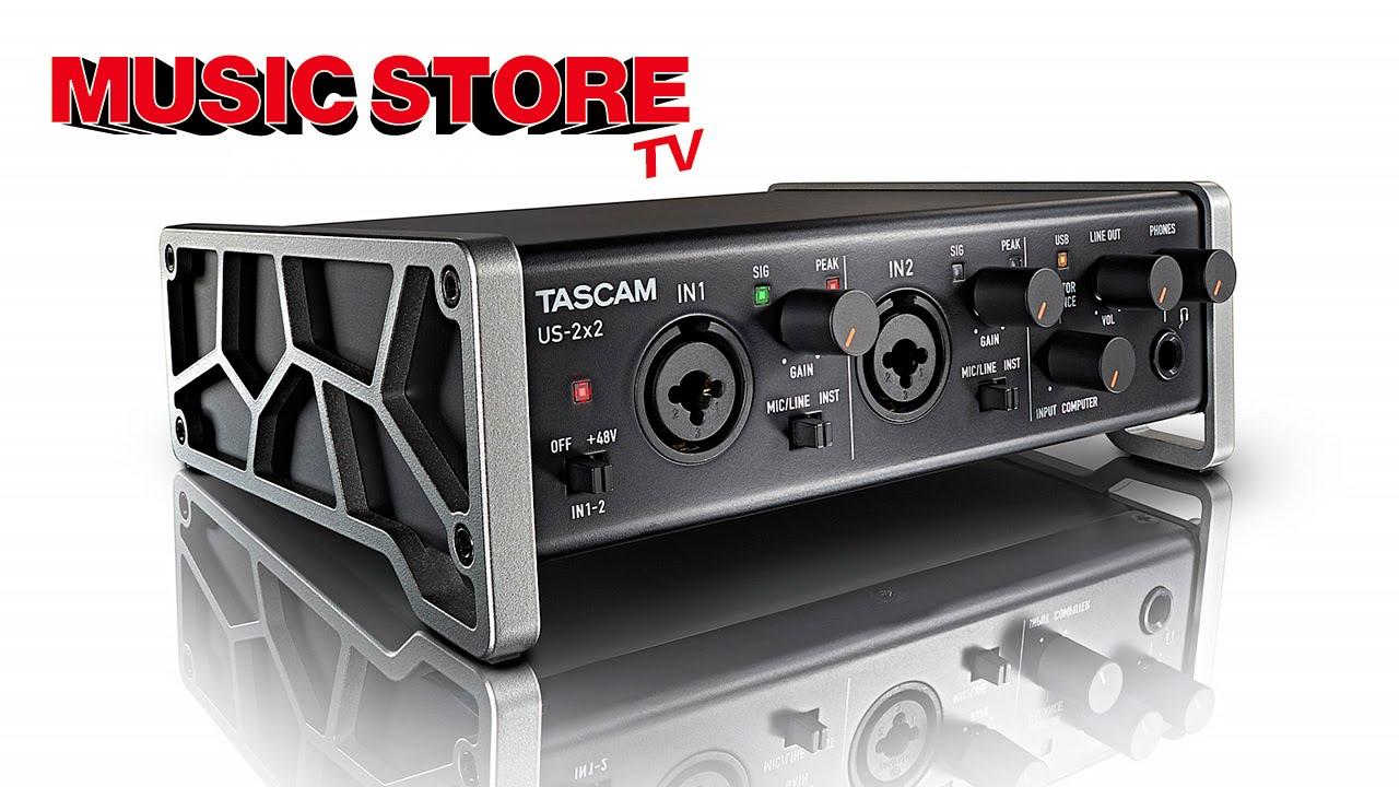Tascam-US2x2 Unboxing/Einrichtung (German/HD) - YouTube