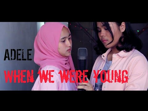 Adele ~ When we were young [ Cover ] Bisboy feat Cindy