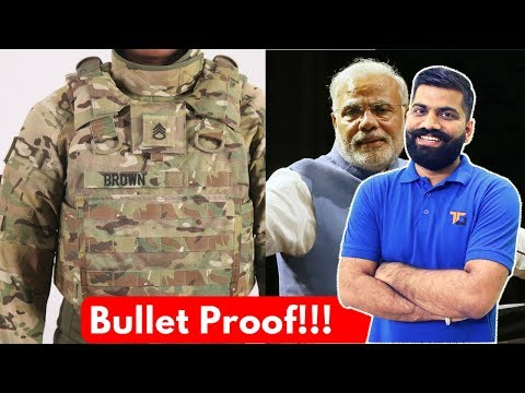 How Bullet Proof Vests Work? Body Armour