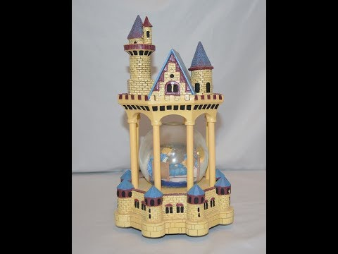 House of Lloyd Sleeping Beauty Snowglobe Music Box Castle