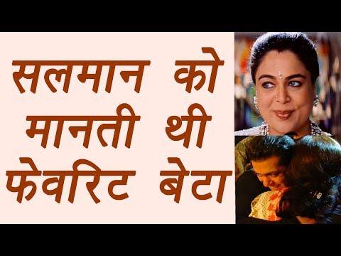Reema Lagoo: Salman Khan was her FAVOURITE SON | FilmiBeat