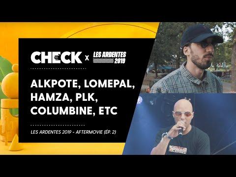 Youtube: Avec Alkpote, Lomepal, Hamza, PLK, Columbine, Kikesa, Chilla, Youv Dee… aux Ardentes (Épisode 2)