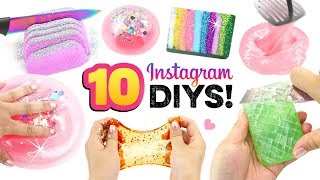 10 SATISFYING INSTAGRAM TRENDS!! Slime, Soap, Bubbles and MORE! Testing DIYS from Viral Vids