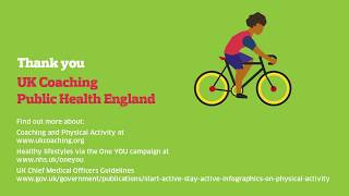 In partnership with public health england, uk coaching is proud to present the 'reducing physical inactivity' animation. split into three parts, animatio...