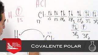 enlace covalente polar qumica