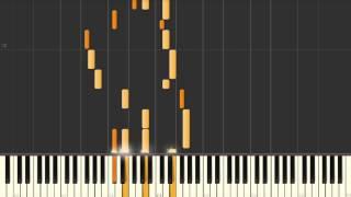 Kokoro Connect | I Scream Chocolatl - Synthesia piano tutorial
