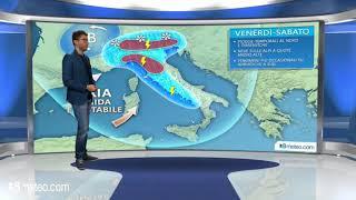 Meteo Italia: tra Venerdi e Sabato piogge e temporali anche forti