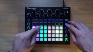 novation circuit live performance pt 1