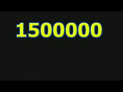 1500000 миллиона(1500000 million)из YouTube · Длительность: 3 мин42 с