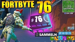 Fortnite Fortbyte 76 ☔ Diorama | All Fortbyte Places Season 9 Utopia Skin English