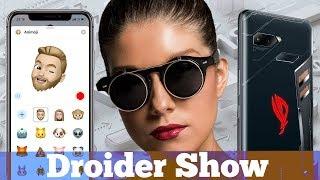 Итоги WWDC18, что крутого в iOS12, ASUS ROG Phone и робот аватар | Droider Show #354