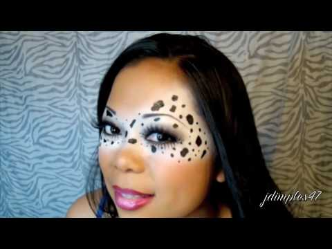 Eily\'s Contest Entry - Glam Animal Print - YouTube