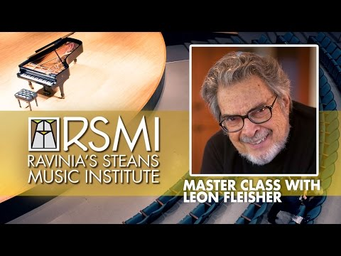 RSMI Master Class with Leon Fleisher 2016