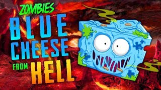 Blue Zombie Cheese From Hell! (Call of Duty Zombies)