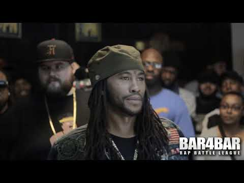 BAR4BAR RAP BATTLE LEAGUE PRESENTS - QLEEN PAPER VS RYDADIE TY