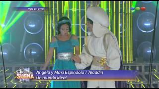Ángela y Maxi Espindola, Un Mundo Ideal - Tu Cara me Suena 2014