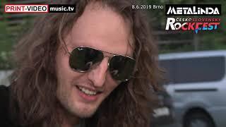 Rozhovor s METALINDOU na ČeskoSlovenskom Rockfeste 2019
