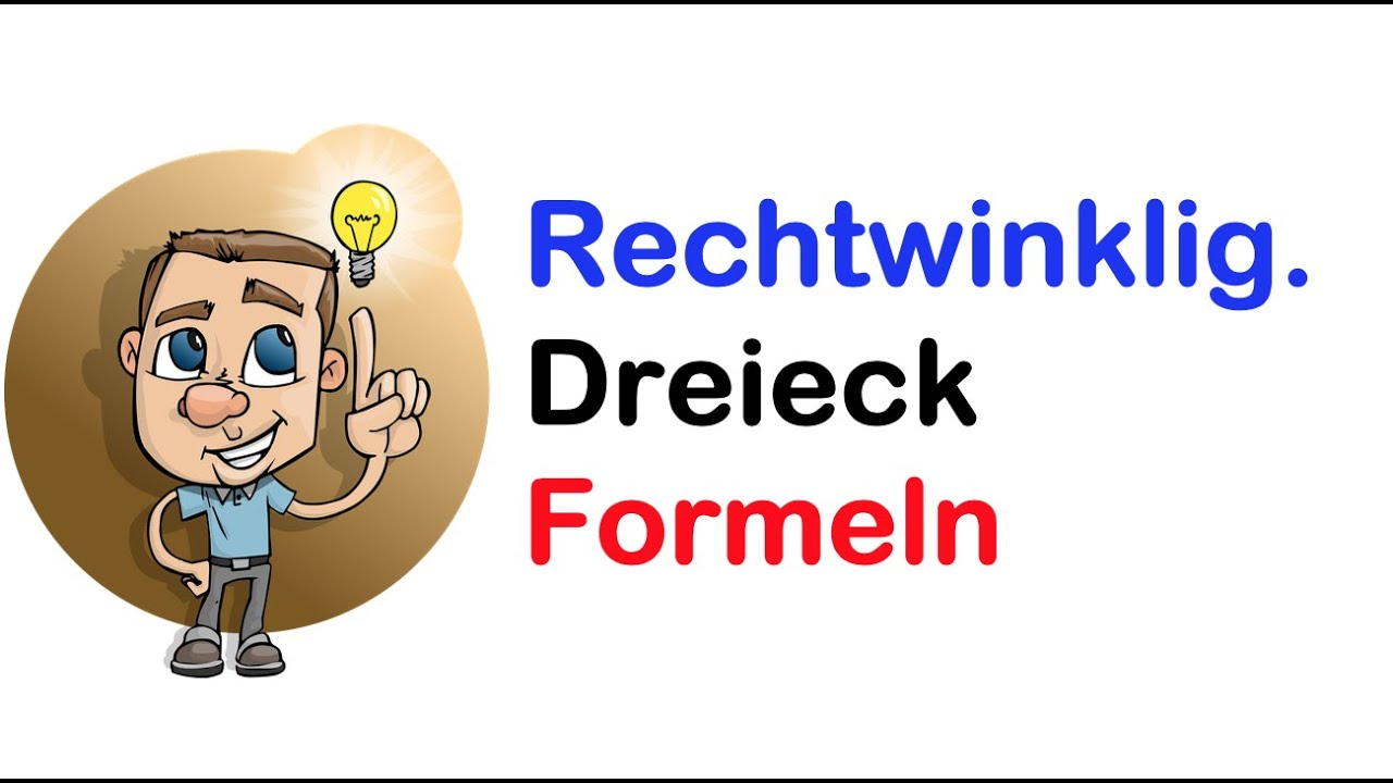 rechtwinkliges dreieck formel bersicht youtube. Black Bedroom Furniture Sets. Home Design Ideas