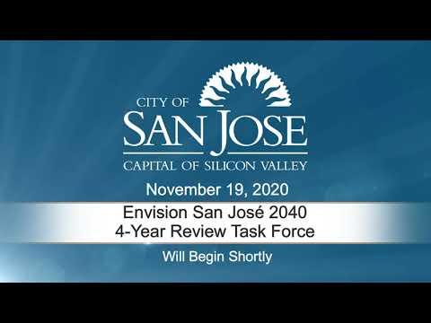 NOV 19, 2020 | Envision San José 2040 General Plan 4-Year Review Task Force