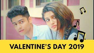 Valentine's Day 2019 (Tera Hi Rahun) | Priya Prakash Varrier | Roshan Abdul Rahoof | Gajendra Verma