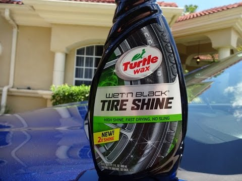 Turtle Wax Wet N Black Tire Shine 2016 Review And Test Results On A Hyundai Tucson