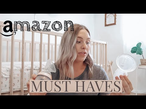 MUST HAVE BREASTFEEDING ITEMS FROM AMAZON | AUTUMN AUMAN