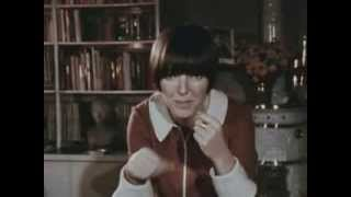British fashion icon Mary Quant, 1968: CBC Archives