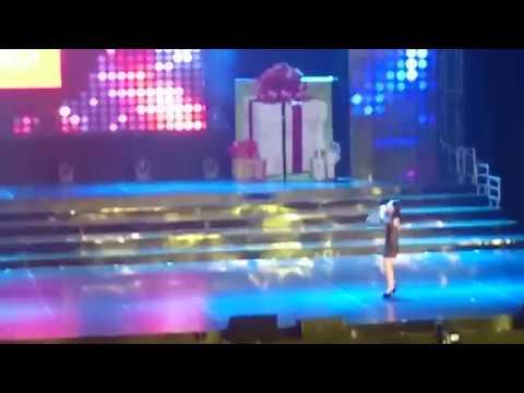 FANCAM Oteage Rarabai   JKT48 at JKT48 3rd Anniversary Concert
