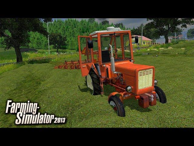 🔥 Władimirec T-25 & Przewracanie Siana ⭐️ Farming Simulator 2013 🚜