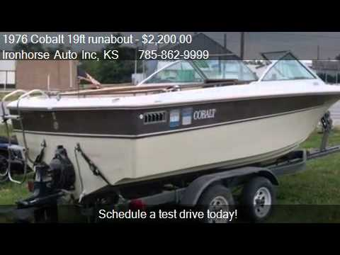 1976 Cobalt 19ft Runabout Cuddy For Sale In Topeka Ks