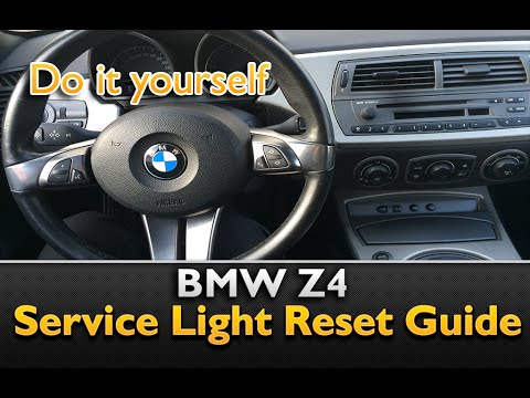 Bmw Z4 Service Light Reset Youtube