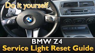 Video BMW Z4 Service Light Reset download MP3, 3GP, MP4, WEBM, AVI, FLV Mei 2018
