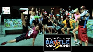 Zap & John vs Kaio : spaghett'hiphop battle