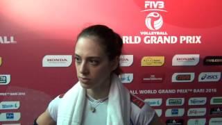 20-06-2016: Bari WGP - Imma Sirressi dopo Italia-Thailandia
